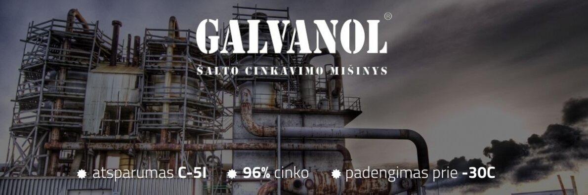 GALVANOL - charakteristikos