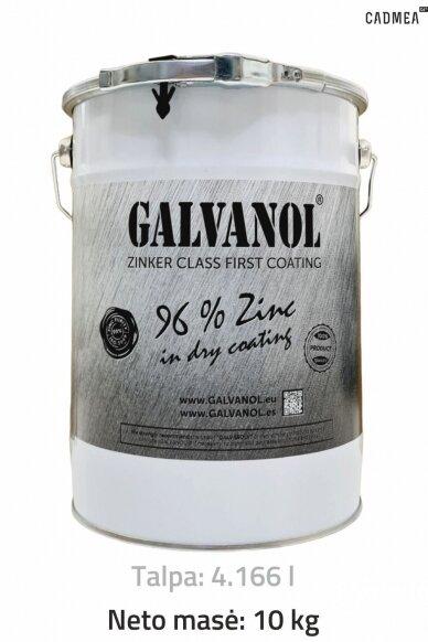 Šalto cinkavimo mišinys «GALVANOL», 10 kg